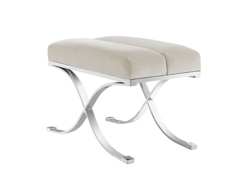 EICHHOLTZ Stool Adonia - Pebble Grey