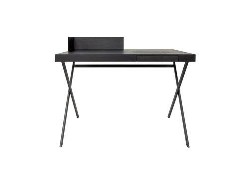Dome Deco Desk 'Plato' - Oak Wood brown - 100 cm