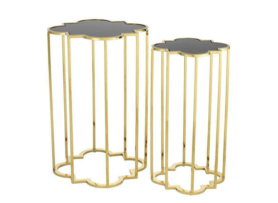 Design bijzettafel Concentric S/2 Gold