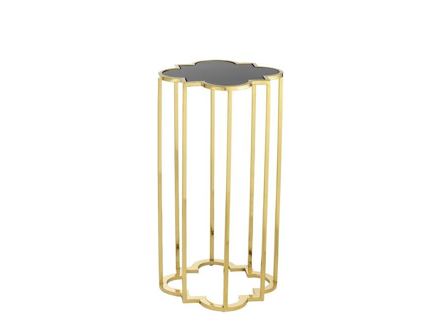 Design bijzettafels 'Concentric' Set van 2 Gold