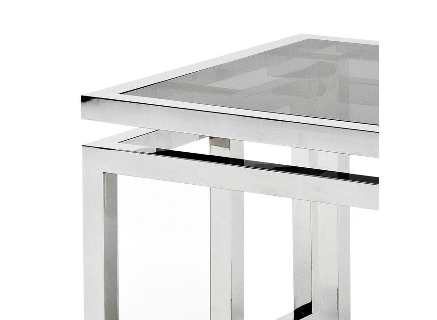 Design bijzettafel 'Palmer' 65x65x55cm