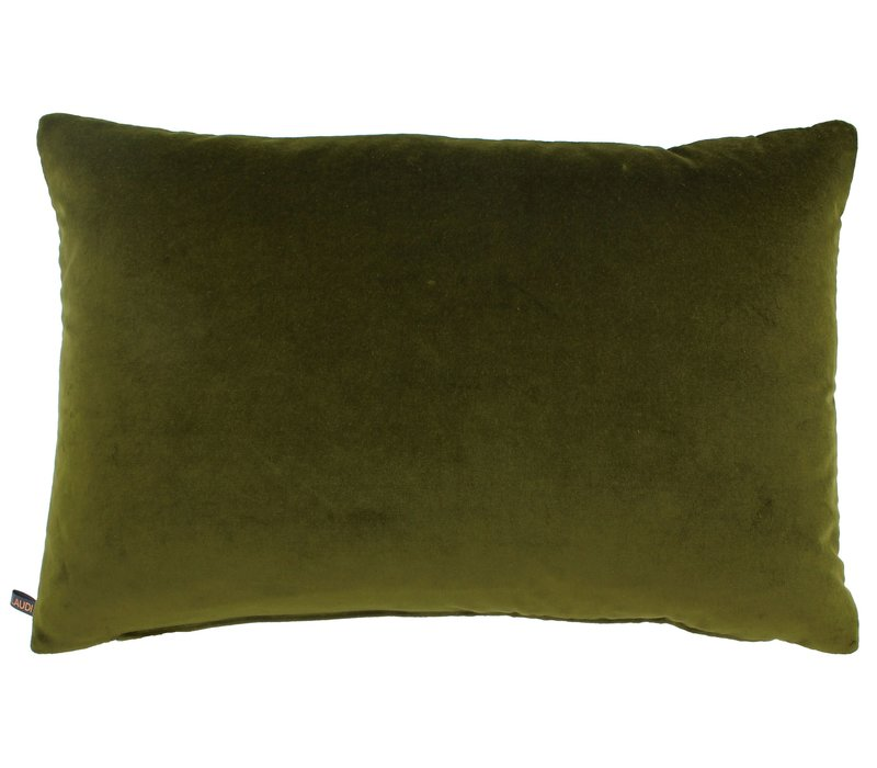 Cushion Kvadrat Codya White - Olive