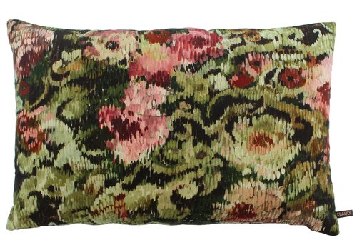 CLAUDI Cushion Lilly Olive