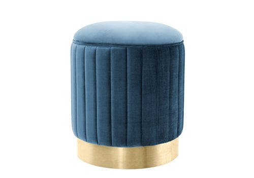 EICHHOLTZ Allegra Blue Stool