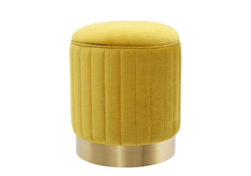 EICHHOLTZ Allegra Stool Yellow