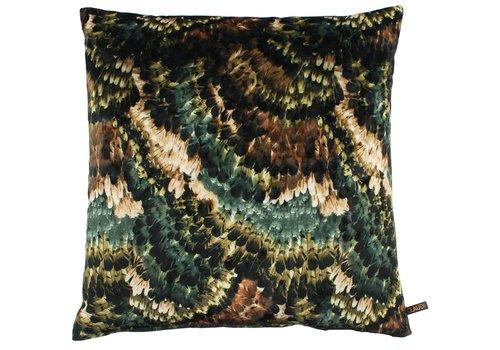 CLAUDI Cushion Pheasant Ice Emerald