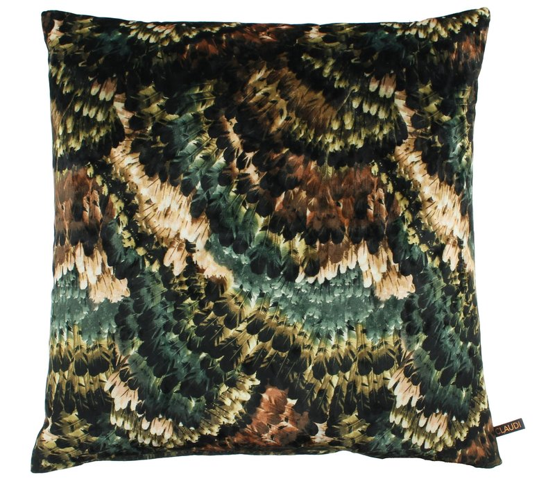 Cushion Pheasant Ice Emerald