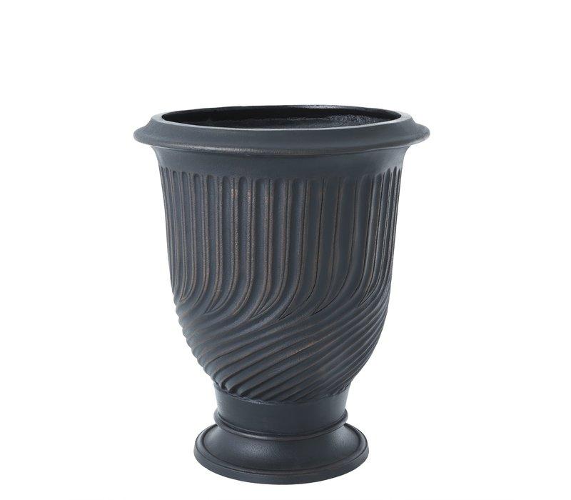 Planter bronze 'Chelsea'