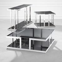 Design side table 'Treasure' 65 x 65 x H55 cm