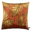 CLAUDI Cushion Jungle Leaves Ice Rust