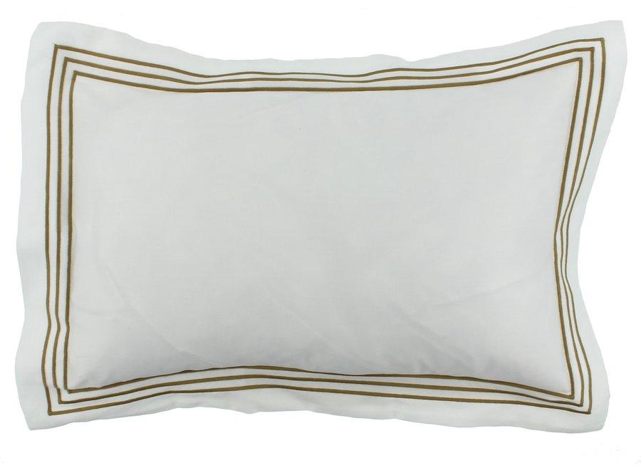 Dekbedovertrek Kaia - White / Olive