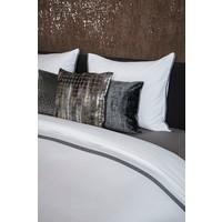 Bettbezug Manawa - White / Taupe
