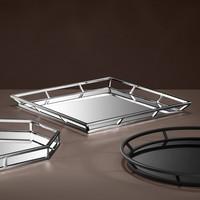 Tray 'Pechora' 50 x 50 x H. 4,5 cm