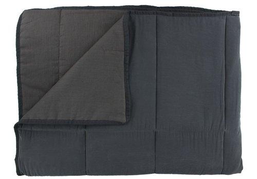 CLAUDI Bedspread Maia - Dark Taupe