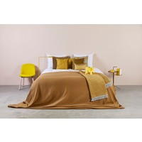 Bedspread Ana in the color Mustard