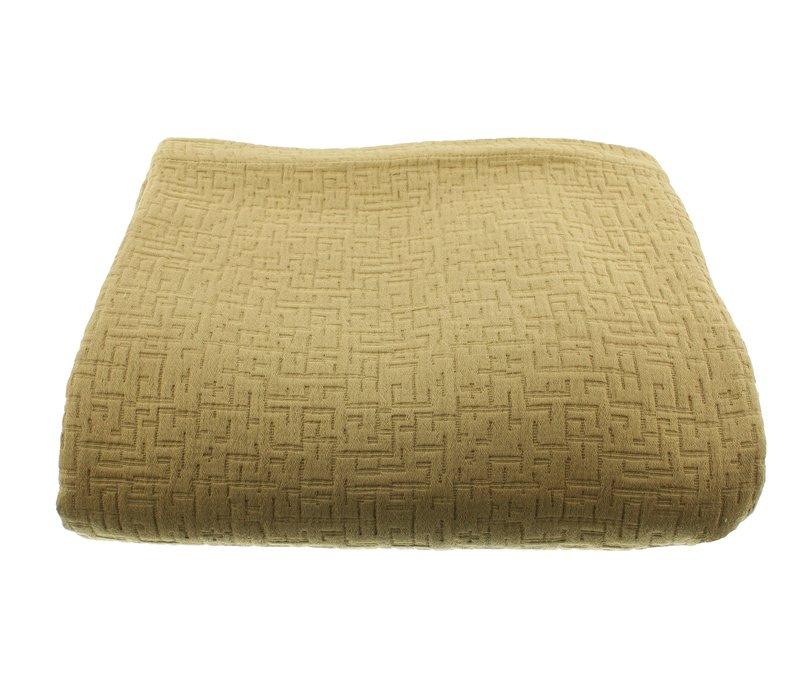 Bedspread Tui in the Mustard color