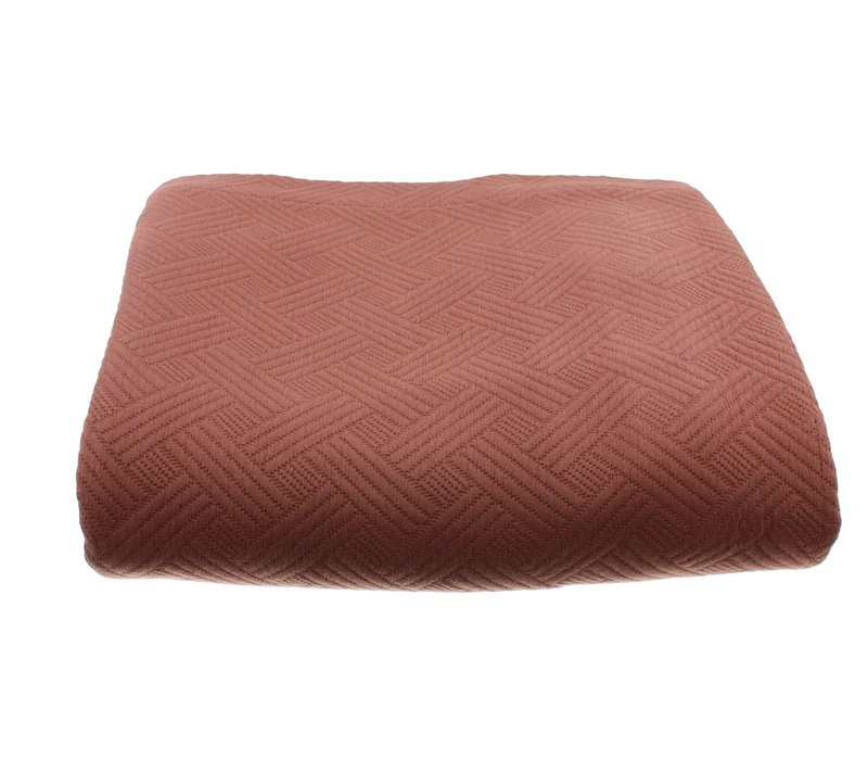 Bedspread Ana in the color Rust