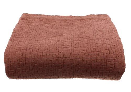 CLAUDI Bedspread Tui - Rust