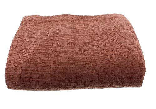 CLAUDI Bedspread Kara - Rust