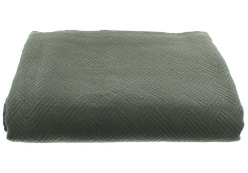 CLAUDI Bedsprei Ana - Grey/Mint
