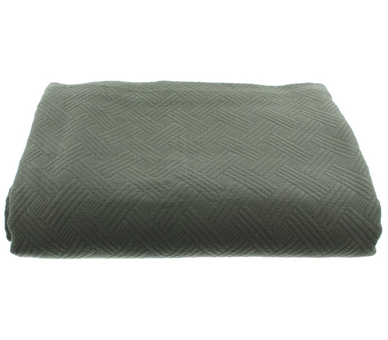 Bedspread Ana in the color Grey/Mint