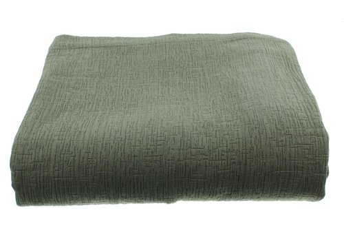 CLAUDI Tagesdecke Kara - Grey/Mint