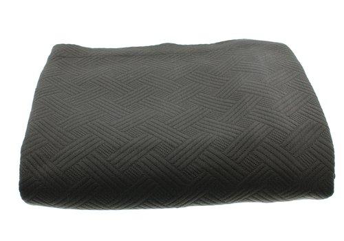 CLAUDI Bedspread Ana - Dark Taupe