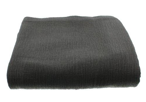 CLAUDI Bedspread Kara - Dark Taupe