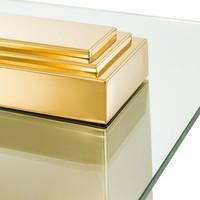 Beistelltisch 'Orient' H 51 cm Gold