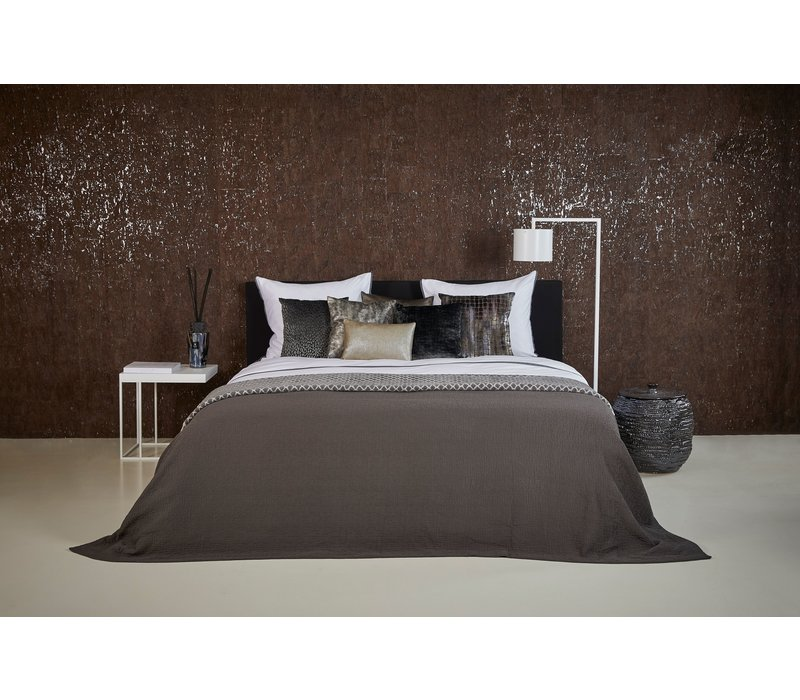 Bedspread Ana in the color Dark Taupe