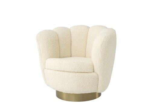 EICHHOLTZ Swivel armchair Mirage Sherling