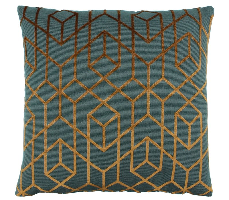 Cushion Bonno Petrol Copper