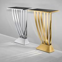 "Designtisch ""Beau Deco"" Gold 70 x 30 x H. 92,5 cm"