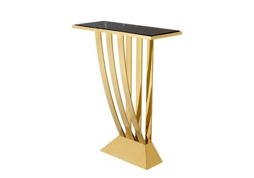 EICHHOLTZ Design console tafel 'Beau Deco' Gold