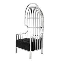 Chair 'Bora Bora' Stainless steel