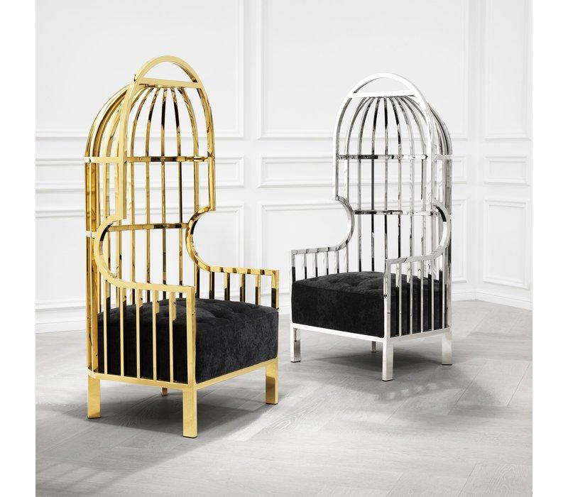 Chair 'Bora Bora'  Roestvrijstaal