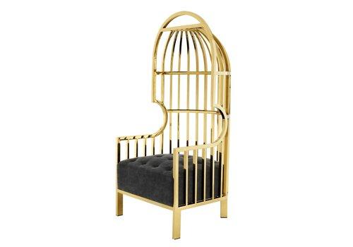 EICHHOLTZ Chair Bora Bora Gold