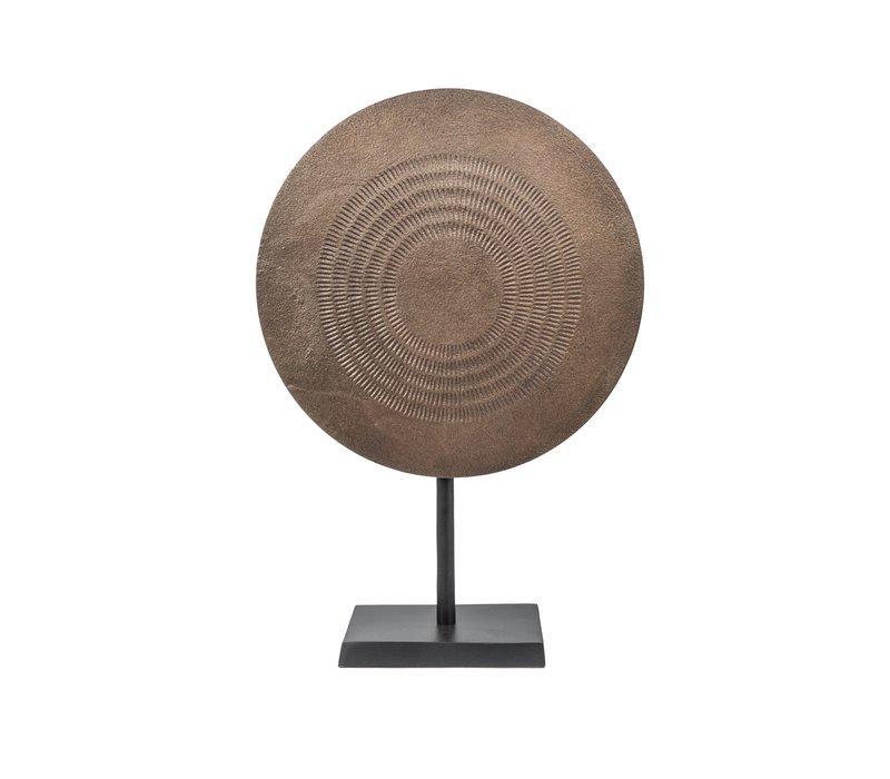 Sculpture Bronze met zwarte voet