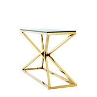 Console table 'Connor' Gold