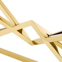 Konsolentisch Glas 'Connor' Gold