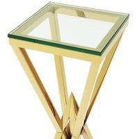 Design column 'Connor' Gold 100 cm high