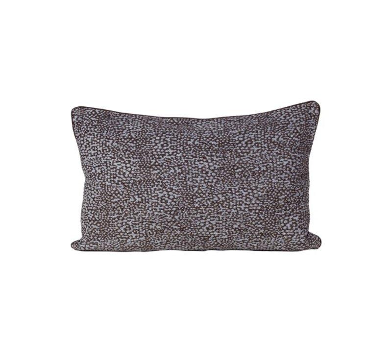 Cushion Pari in color Brown/Blue