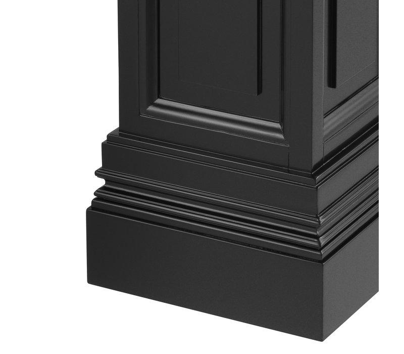 Zwarte zuil 'Salvatore' M 100cm