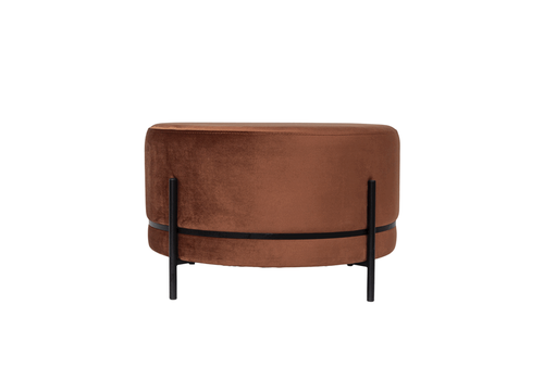 Dome Deco Round footstool 'Baba' Terra