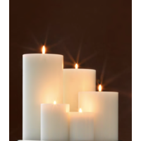 Artificial Candles L - 5 pieces