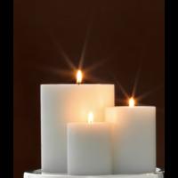 Kaarsen set S - 3 stuks