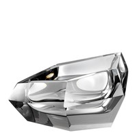 Bowl  'Alma' Grey Crystal Glass