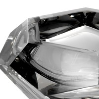 Bowl 'Las Hayas' Gray Crystal Glass