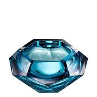 Schale 'Las Hayas' aus blauem Kristallglas