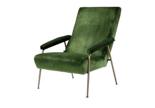 EICHHOLTZ Catania Green Velvet Armchair'Gio'
